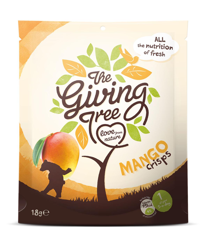 Onze Snacks The giving tree mango crisps