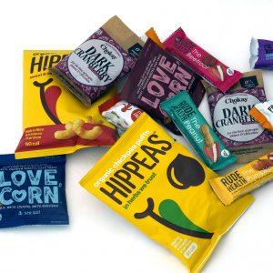 Snacks voor proefpakket